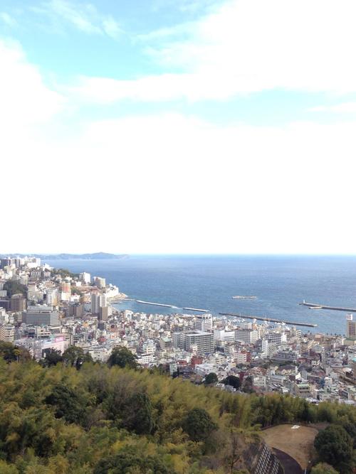 リゾナーレ熱海からの眺め