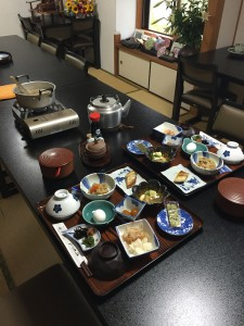 岩本寺宿坊朝食