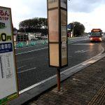 山居倉庫前バス停地図